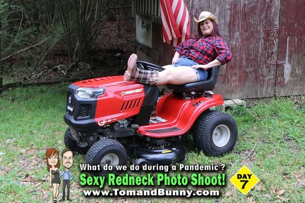 Day 7 - What do we do during a Pandemic - Sexy Redneck Photo Shoot 1
