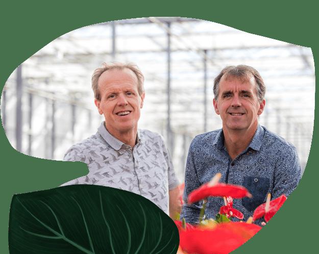 Lex en Fred van Amazone Plants