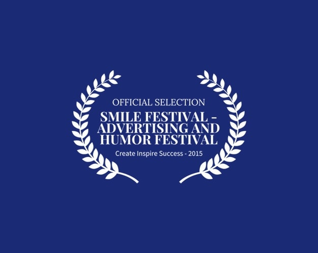 OFFICIAL SELECTION SMILE FESTIVAL ADVERTISING AND HUMOR FESTIVAL