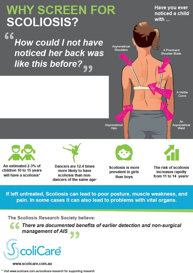 why screen for scoliosis