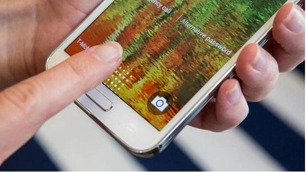 Galaxy S5 finger scanner problem