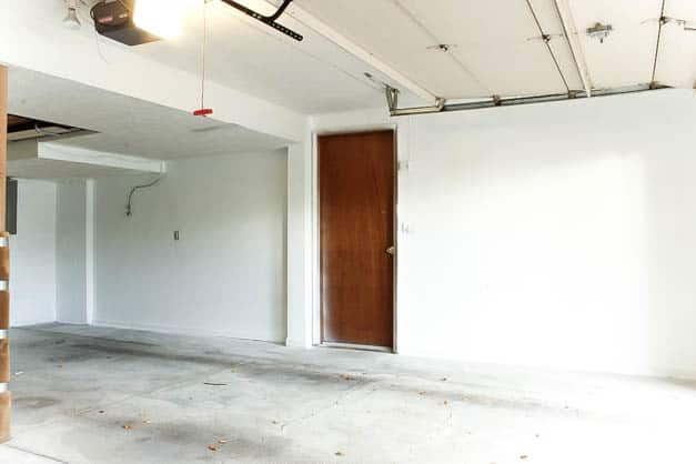 garage-makeover-white-painted-walls-right-wall