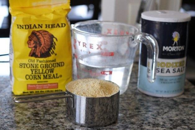 cornmeal mush ingredients