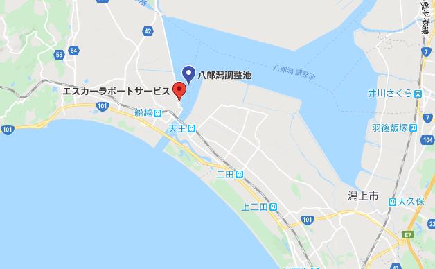八郎潟のレンタルボート店:エスカーラボートサービス