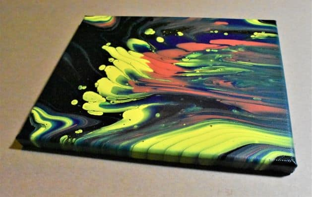 Day 30 Acrylic Pouring Color Theory Series