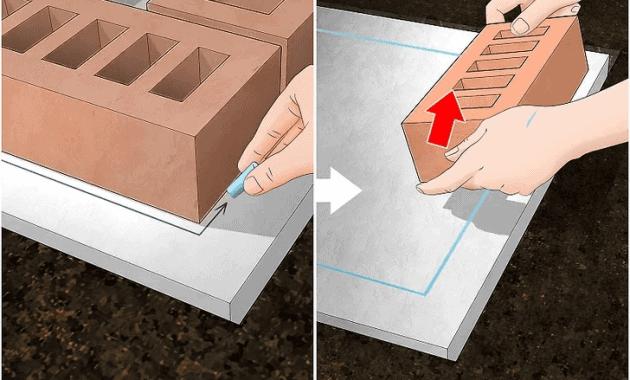 STEP TO BUILD BRICK COLUMNS