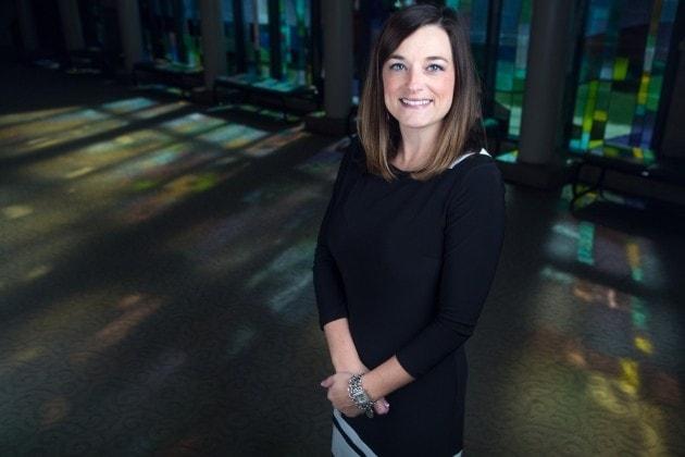 Ashley Carter, director of alumni and constituent engagement. (AJ Reynolds/Brenau University)