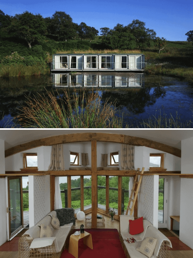 Complex Shipping Container Design Ideas Waterfront in Scotland