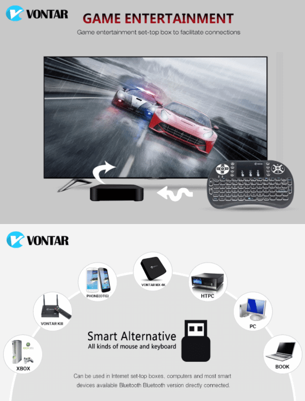 mini keyboard for tv