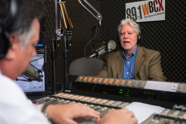 Jay Andrews and David Miller talk about health care on a weekly radio show.