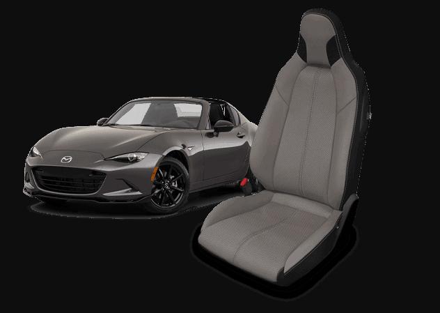 Mazda Miata leather seats