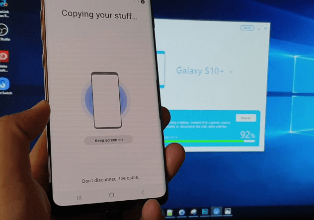 S10 Smart Switch Crashing Android 10