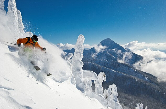 Best places to ski in the winter