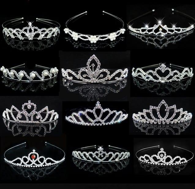 AliExpress Cheap Designer Wedding Dresses Bridal Gown Princess Tiara 1