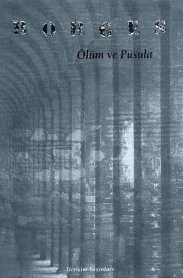 Ölüm ve Pusula Kitap Kapağı