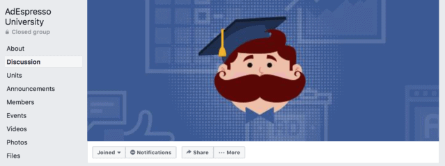 adespresso facebook group cover image