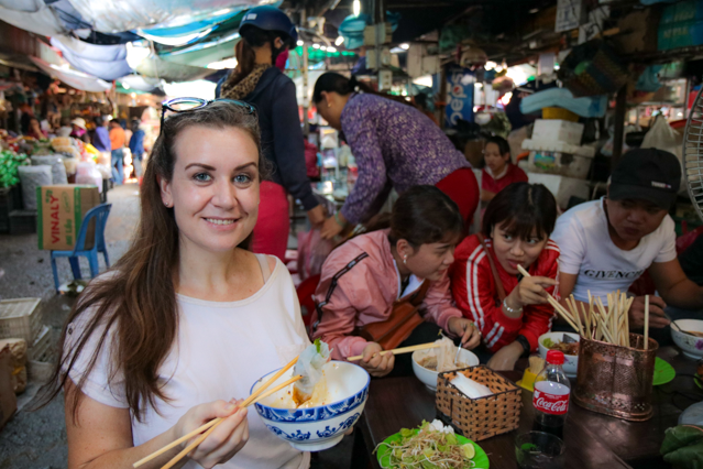 Melanie May Travel Journalist in Hue, Vietnam.