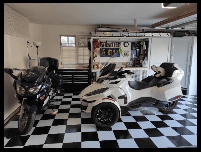 garage floor tile