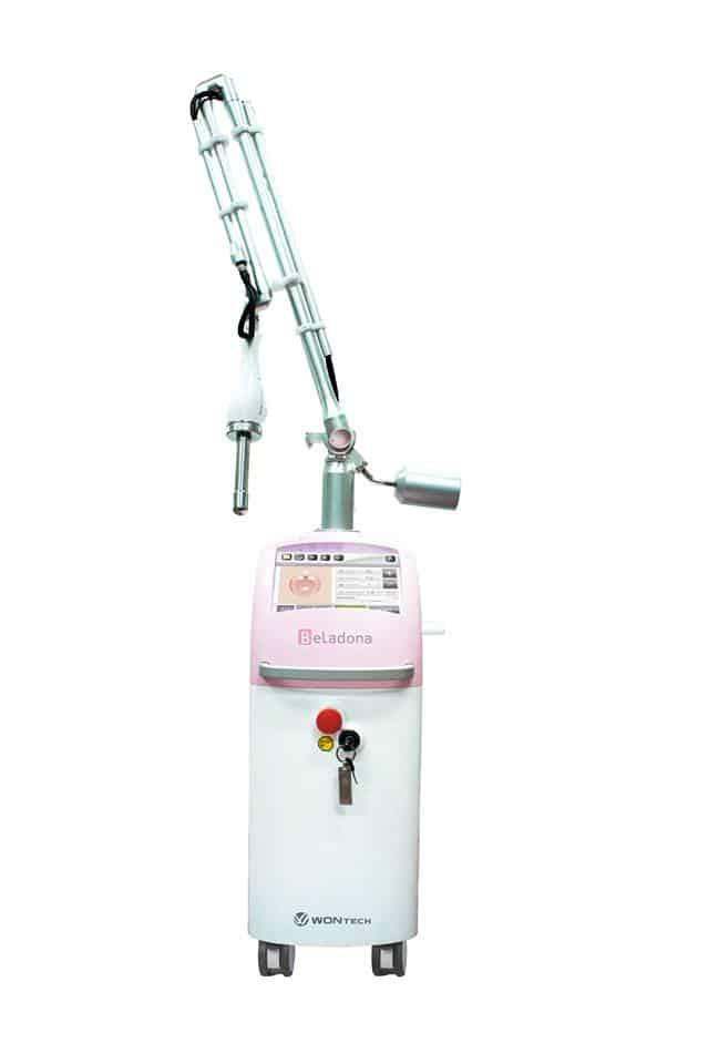 laser frakcyjny CO2 Beladona
