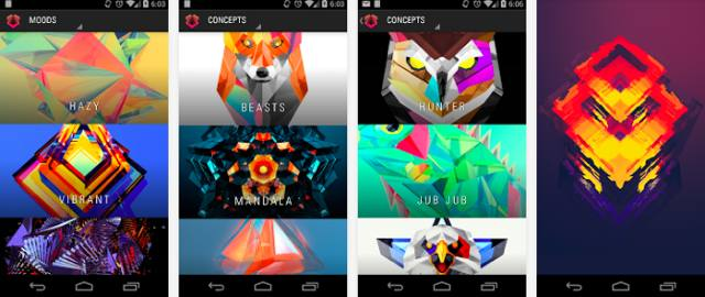 Facets-android-wallpaper-app