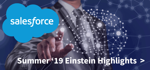 Salesforce Summer '19 Einstein Highlights