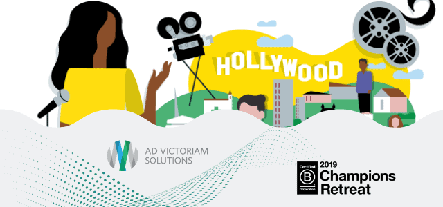 AdVic and BCorp Go Hollywood