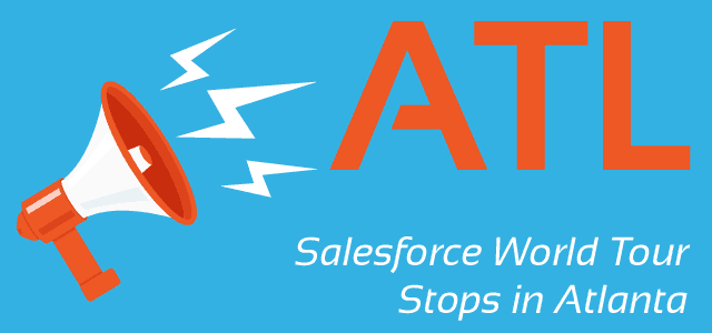 Salesforce World Tour Stops in Atlanta