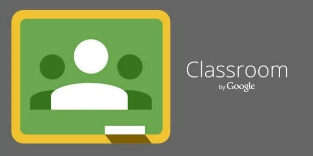 aplikasi komunikasi daring : Google Classroom