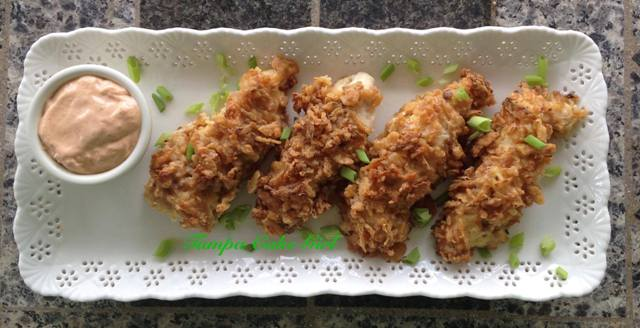 Blooming Onion Chicken Tenders