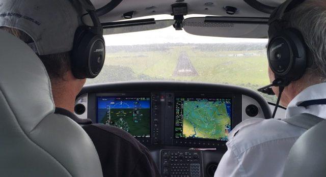 AAA CPL course flight training in Cirrus SR20