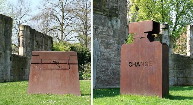 Garden Kelly, 2013 und Change, 2014, © Ludwig Museum Koblenz, Foto: Klara Müller