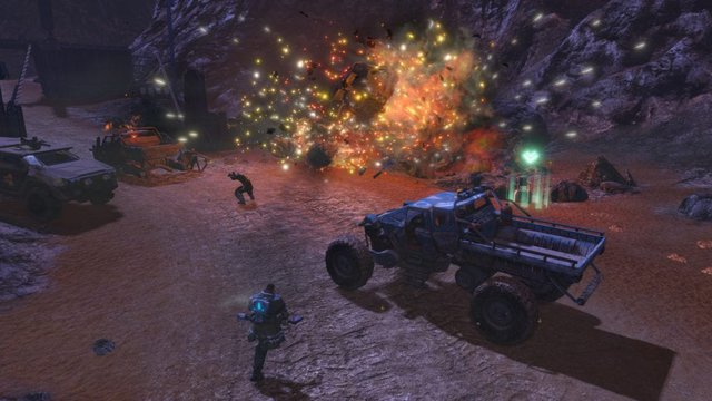 red faction guerrilla remarstered esplosione in game