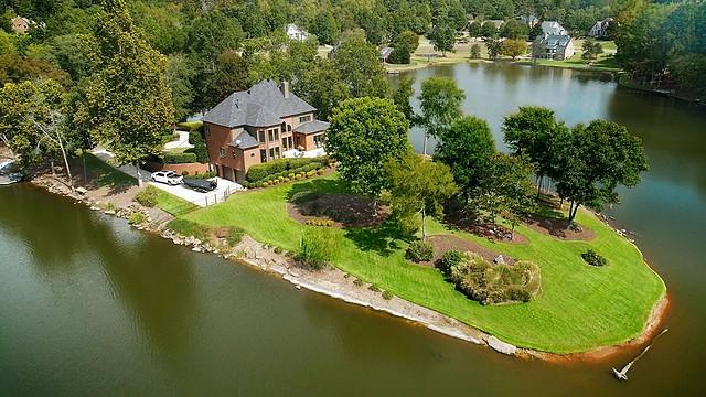 Trussville Lake Front Dream Yard