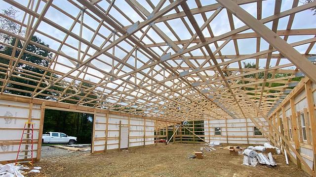 Pole Barn Build