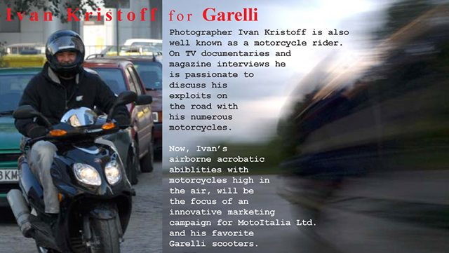 Exlusive dealer for Garelli scooter