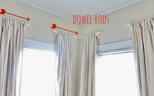 Curtain Rods and Finials