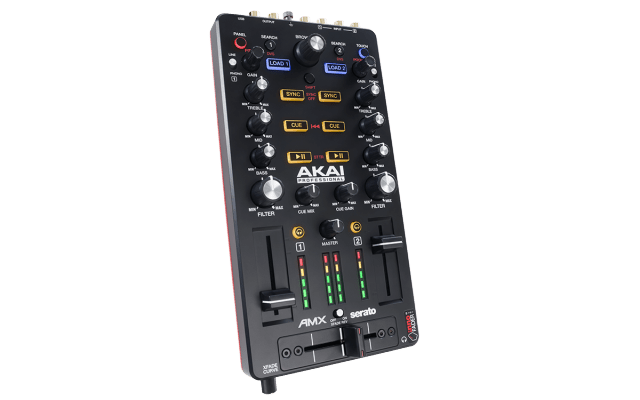 AMX is an audio interface, it's DVS ready, and it includes a full copy of Serato DJ.