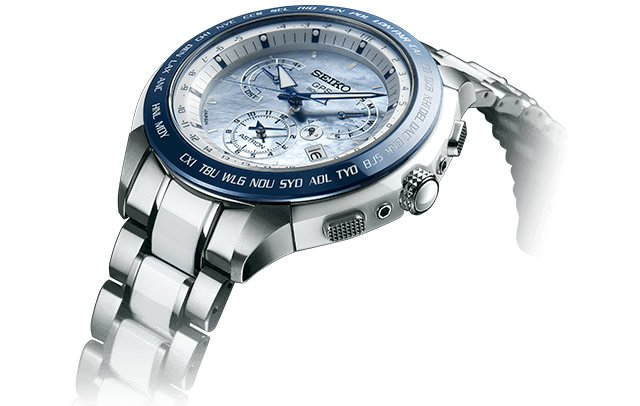 Seiko Astron GPS Dual-Time Solar Watch Limited Edition SSE039