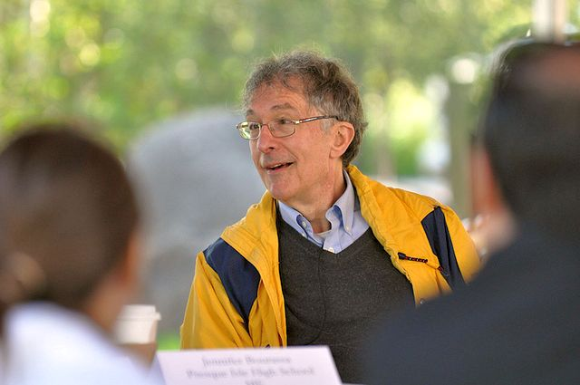 The picture of Howard Gardner is reproduced here under a Creative Commons Attribution-NonCommercial-NoDerivs 2.0 Generic (CC BY-NC-ND 2.0) Licence. It is part of the Aspen Institute's photostream at Flickr.