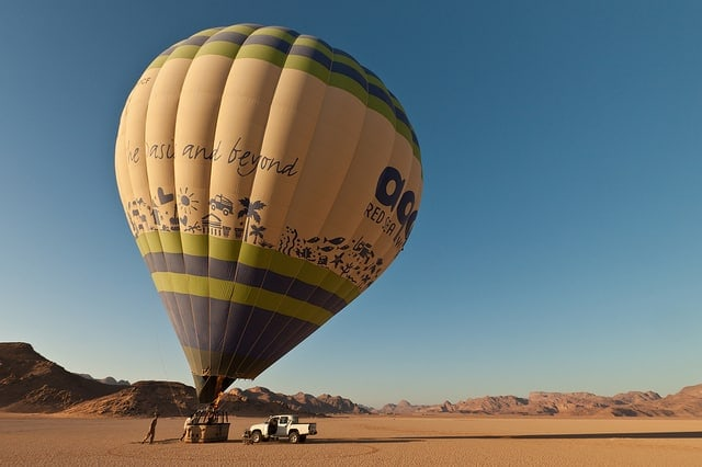 Best places for hot air balloon rides