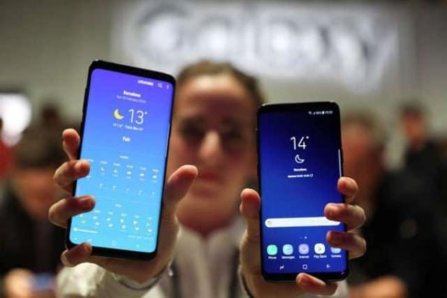 Desain dan Layar Samsung Galaxy S9 Plus
