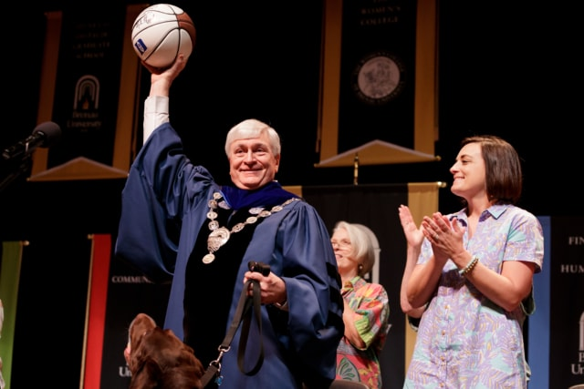President Schrader receives honors