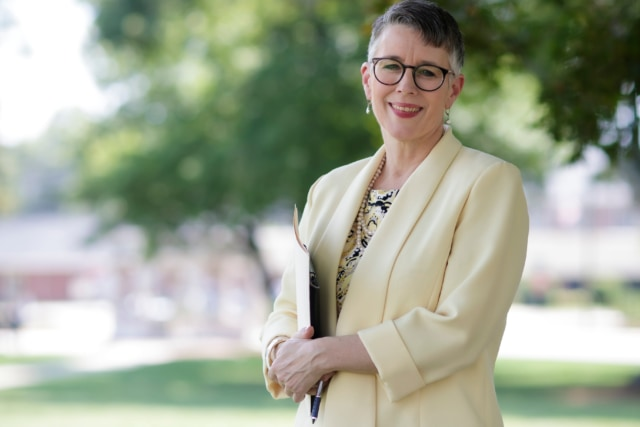 President Anne Skleder: focused on students