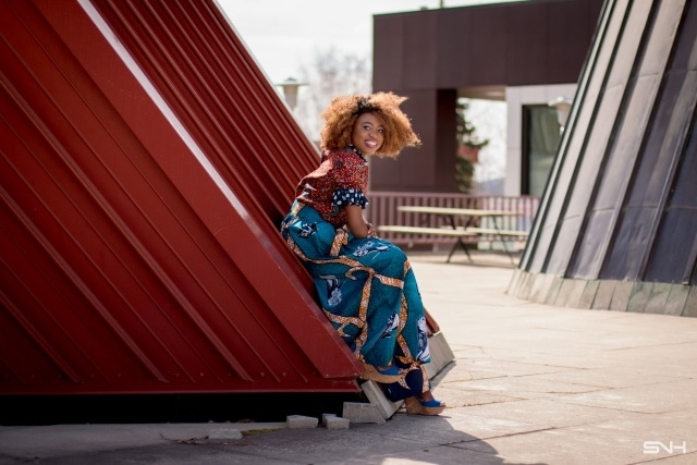 Finally an African print palazzo pants that looks just as chic as it is stylish. This blend of Ankara fabric and polka dot ruffles was done to perfection! Ankara   Dutch wax   Kente   Kitenge   Dashiki   African print dress   African fashion   African women dresses   African prints   Nigerian style   Ghanaian fashion   Senegal fashion   Kenya fashion   Nigerian fashion
