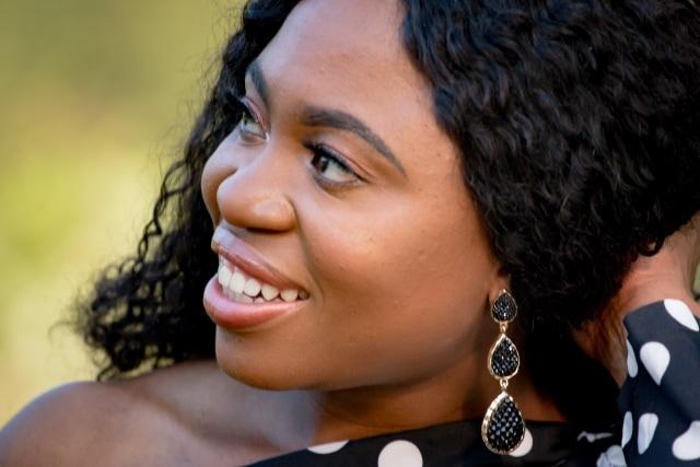 Amrita Singh Womens Hamptons Star Black Crystal Teardrop Earrings