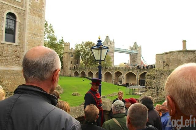 Visiting the Tower of London | Beefeater tour | ZagLeft