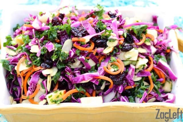 Apple, Kale and Cabbage Salad - Zagleft