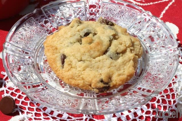 Chocolate Chip Cookie For One - ZagLeft