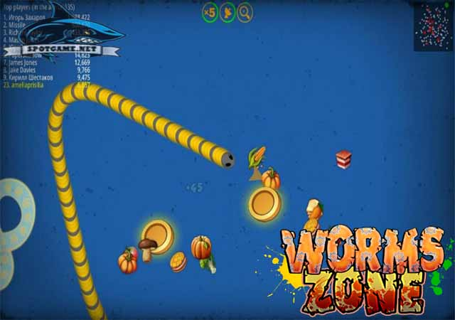 Tips Bermain Worm Zone Spotgame
