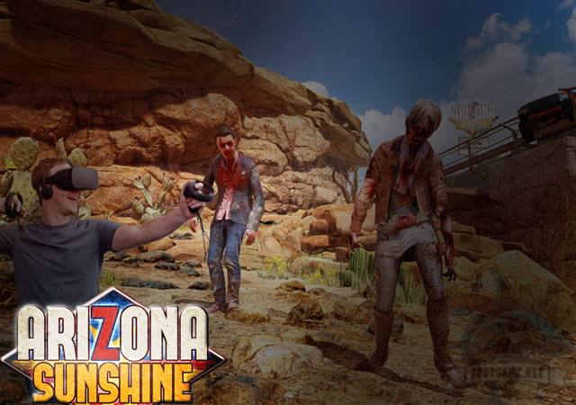 Game VR Arizona Sunshine - Spotgame